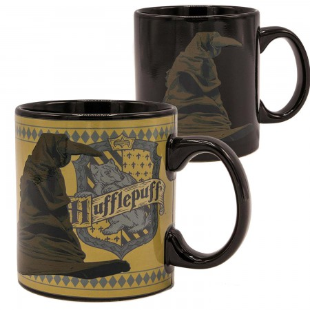 Harry Potter Hufflepuff Sorting Hat 20oz Color Heat Change Mug