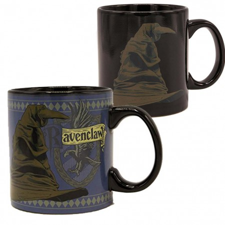 Harry Potter Sorting Hat Ravenclaw 20oz Heat Change Mug