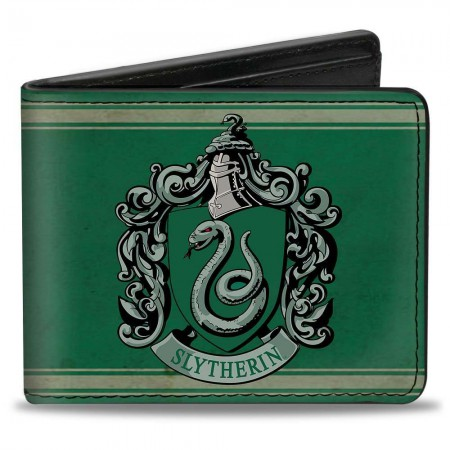 Harry Potter Green Slytherin Wallet