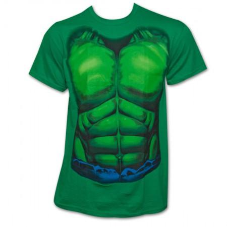 The Hulk Costume Tee - Green