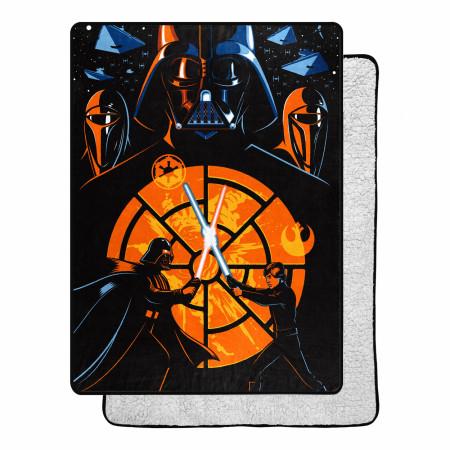 Star Wars Return of the Jedi Showdown Poster 60 X 80 Silk Touch Throw