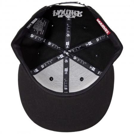 Black Panther Tonal Camo New Era 9Fifty Adjustable Hat