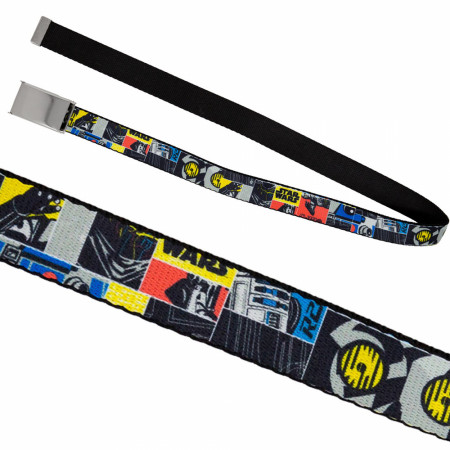 Star Wars Pop Panels Kids Web Belt