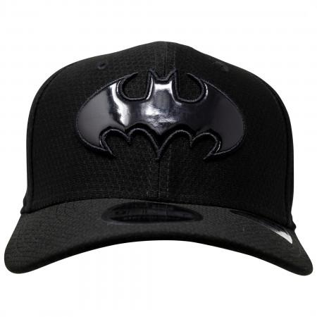 Batman 80th Reflective Logo New Era 9Fifty Adjustable Hat