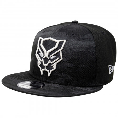 Black Panther Tonal Camo New Era 9Fifty Adjustable Hat