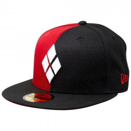 Harley Quinn Diamonds New Era 59Fifty Fitted Hat