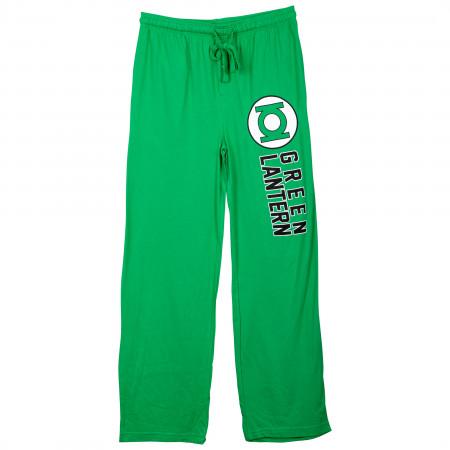 Green Lantern Symbol Unisex Pajama Pants