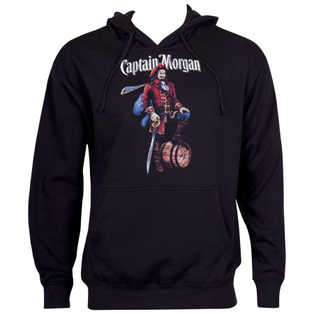 Captain Morgan Pirate Logo Black Hoodie