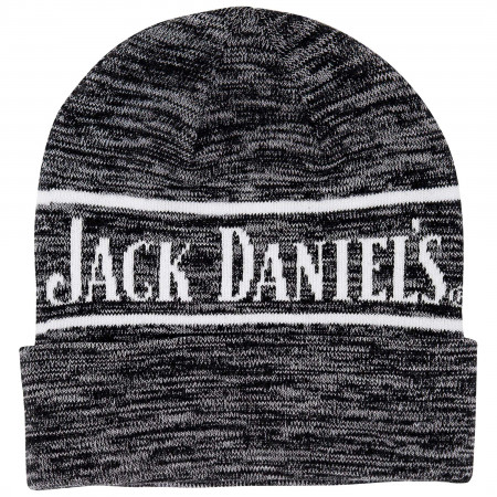 Jack Daniels Grey Embroidered Beanie