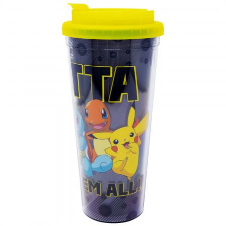 Pokemon Gotta Catch Them All 24 Ounce Travel Mug