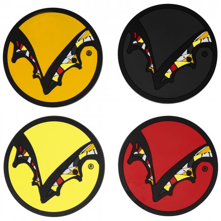 Flying Dog Silicone 4 Pack Coasters