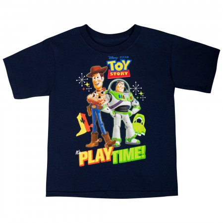 Toy Story Navy Blue Playtime Toddler T-Shirt