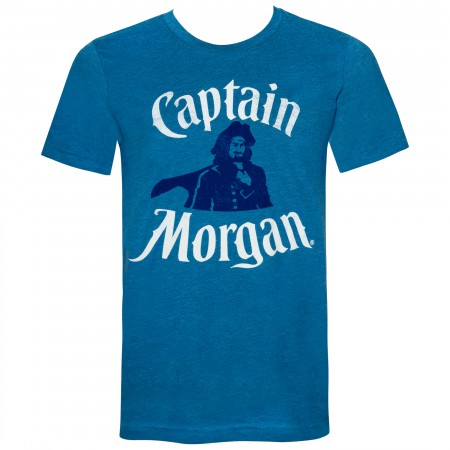 Captain Morgan Portrait Teal Tee Shirt