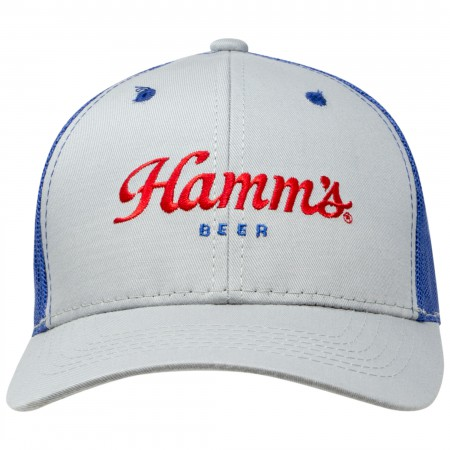 Hamm's Mesh Grey Trucker Hat