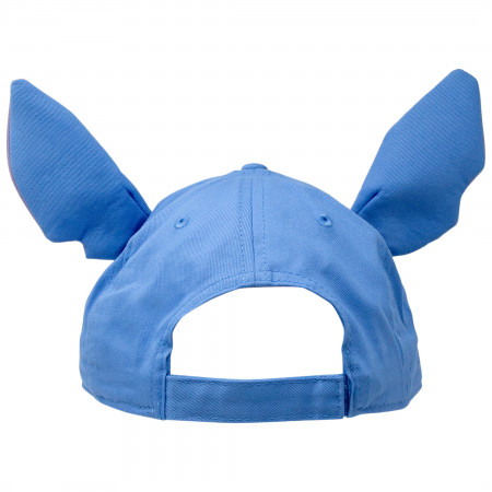 Lilo And Stitch Blue Disney Character Adjustable Strapback Hat