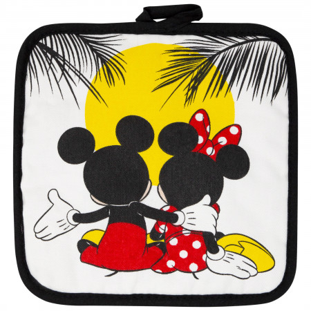 Mickey And Minnie Mouse Sunset 3-Piece Kitchen Towel Set