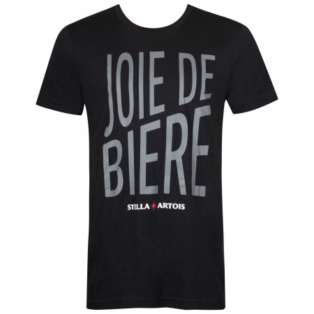 Stella Men's Black Joie De Biere T-Shirt
