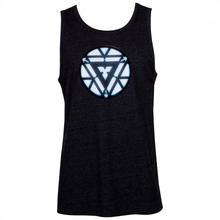 Iron Man Arc Reactor Men's Black Tank Top
