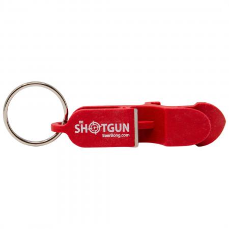 Shotgun Red Beer Bottle Opener