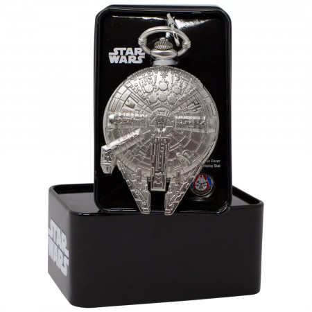 Star Wars Millennium Falcon Pocket Watch