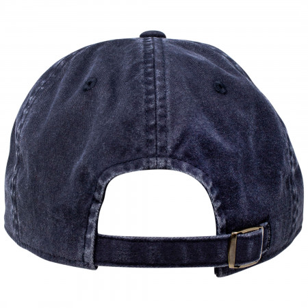 Hamm's Underside Brim Bear Strapback Hat