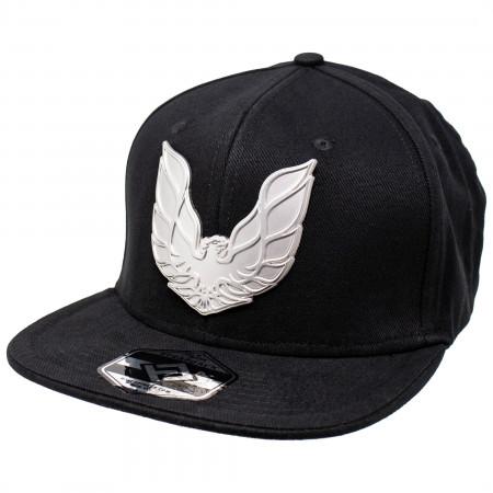 Pontiac Metal Emblem Logo Snapback Hat