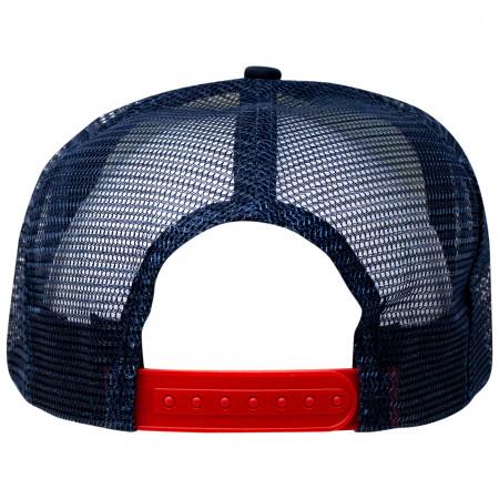 Budweiser Bowtie Logo Snapback Trucker Hat
