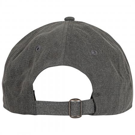 Cherry Coke Gray Dad Hat