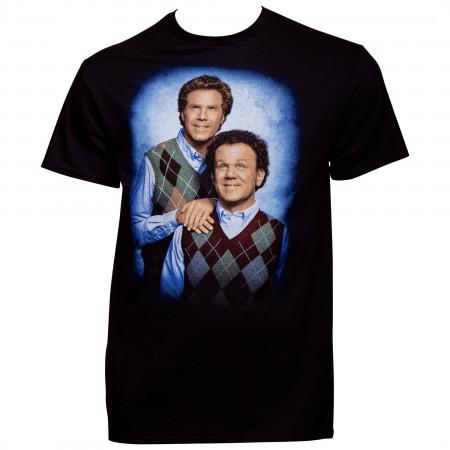 Step Brothers Portrait T-Shirt