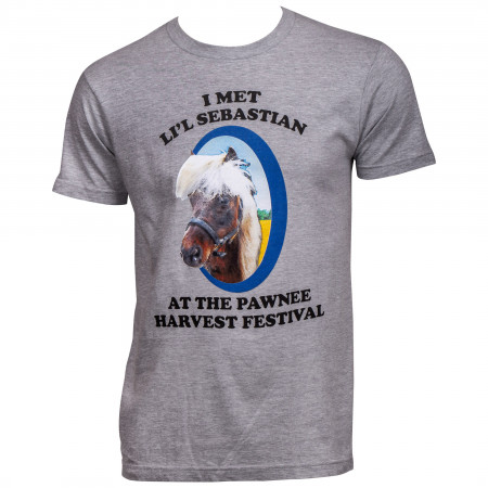 Parks and Recreation I Met Li'l Sebastian T-Shirt
