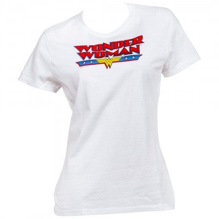 Wonder Woman Classic Text Women's T-Shirt