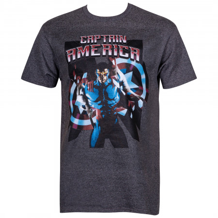 New Captain America Men's T-Shirt