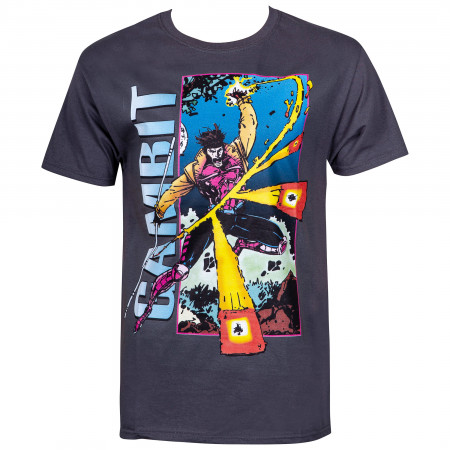 Gambit Card Trick Men's X-Men T-Shirt