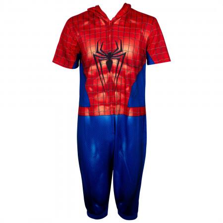 Spider-Man Cropped Union Suit