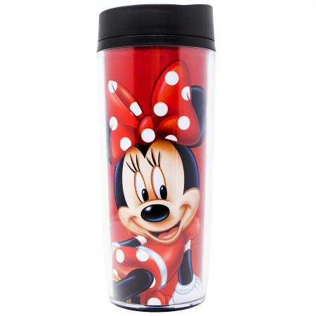 Disney Minnie Mouse in Polka Dots Travel Mug