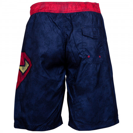 Superman Swim Shorts