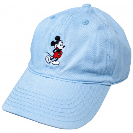 Disney Mickey Mouse Light Blue Dad Hat