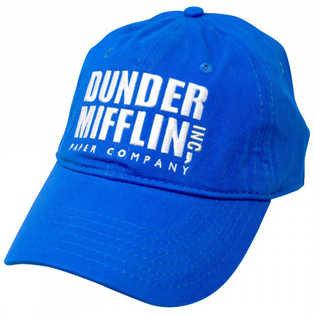 The Office Dunder Mifflin Logo Strapback Hat