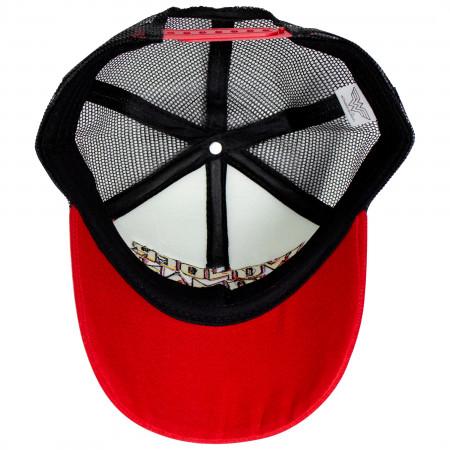 Wonder Woman Retro Logo Trucker Hat
