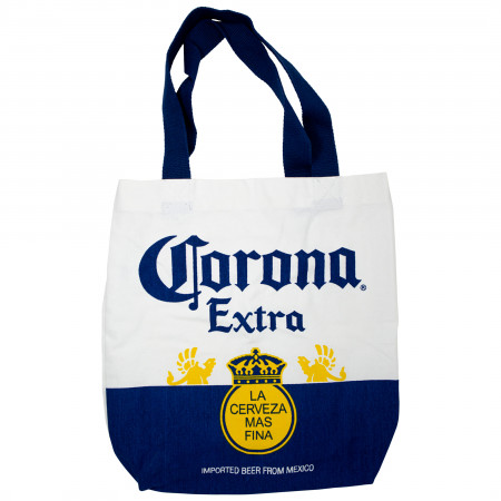 Corona Extra Bottle Label Tote Bag