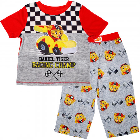 Daniel Tiger Racing Champ Toddlers Shirt & Pants Sleep Set