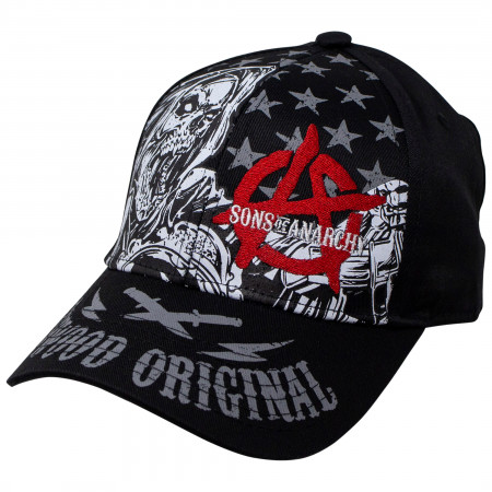 Sons of Anarchy Reaper Redwood Original Snapback Hat