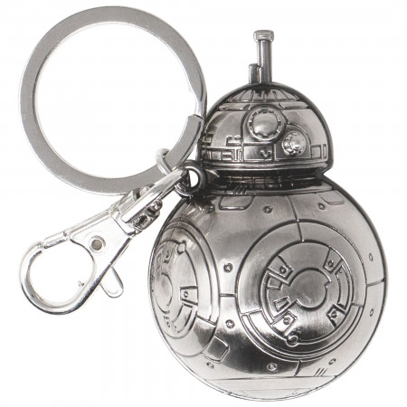 Star Wars BB-8 Pewter Keychain