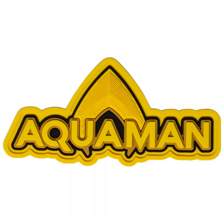 DC Comics Aquaman Text Soft Magnet