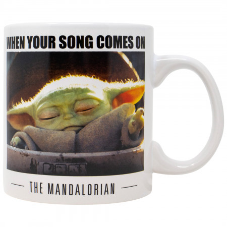 Star Wars The Mandalorian Your Song 20 Ounce Mug