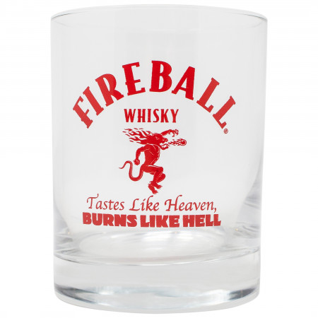 Fireball Whisky Dragon Rocks Glass