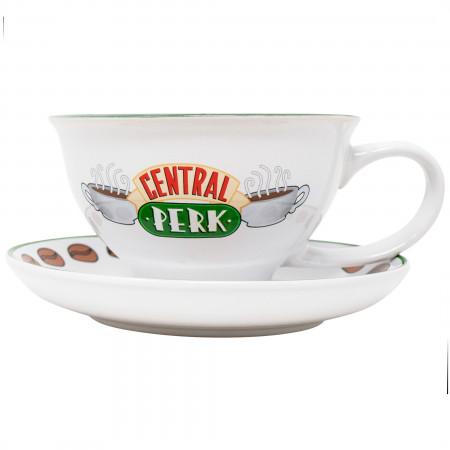 Friends Central Perk 12 Ounce Mug and Saucer