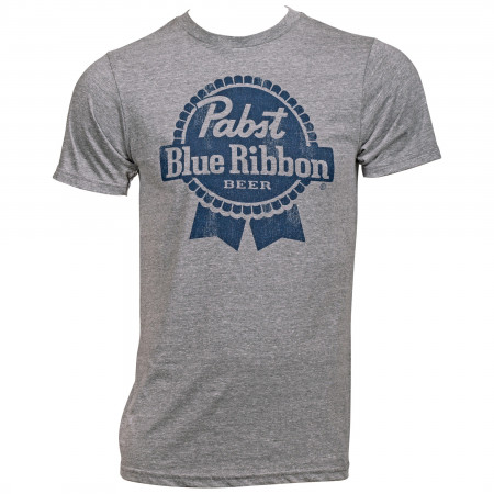 Pabst Blue Ribbon PBR Blue Logo T-Shirt