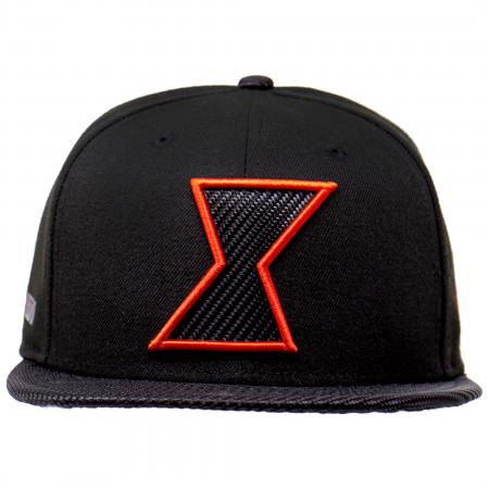 Black Widow Movie Carbon Symbol 9Fifty Adjustable New Era Hat
