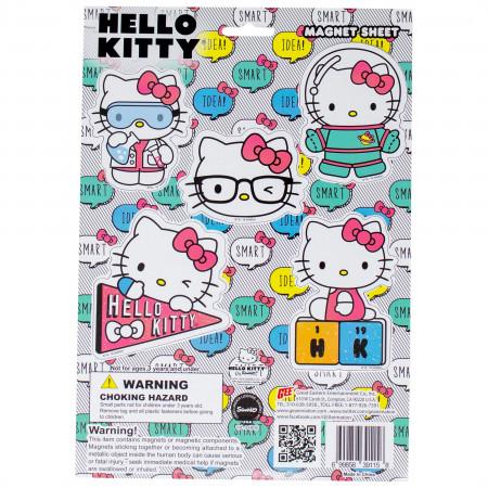 Hello Kitty Nerdy Magnet Set